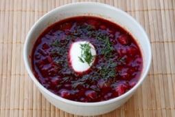 Zupa z buraczkami
