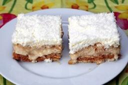 Ciasto na krakersach (bez pieczenia)